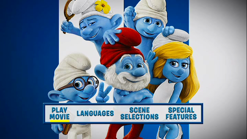 The Smurfs 2 DVD-R NTSC Español Latino-Inglés, 2013