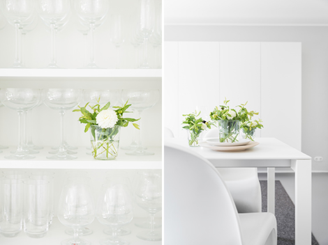 Blumenbouquets - Herbstblumen für den Tisch
