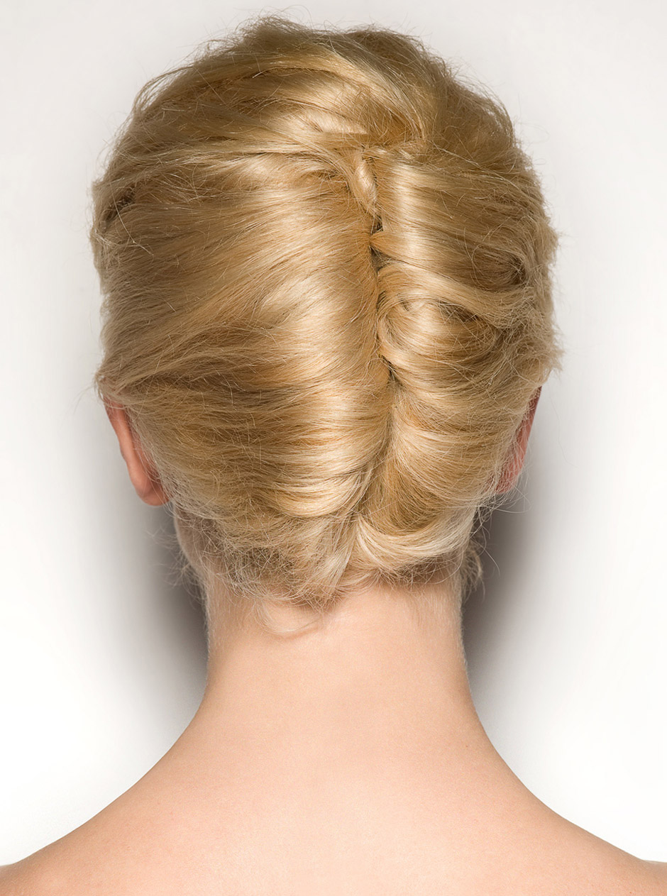 Bernadeta Double French Twist Hair