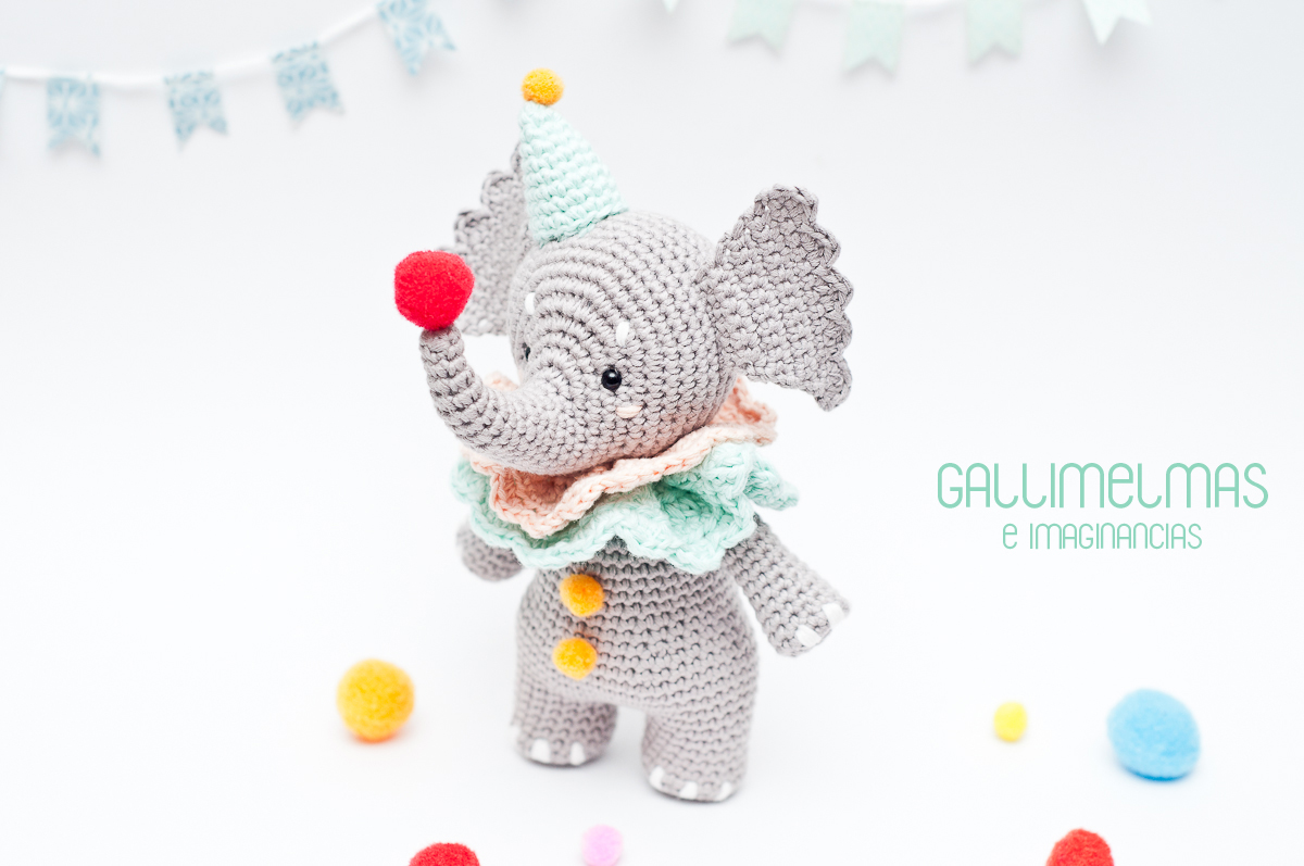 Amigurumi crochet pattern (English) - Ellie the elephant | Patrones  amigurumi, Amigurumi patrones gratis, Ganchillo amigurumi | 797x1200