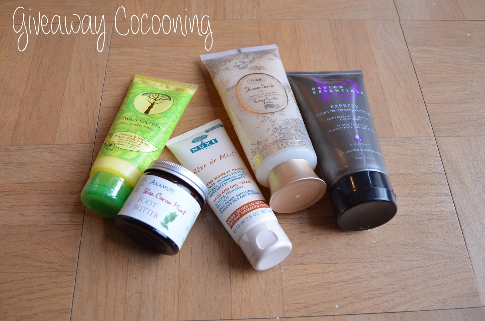 giveaway Cocooning Blog Afromangocie