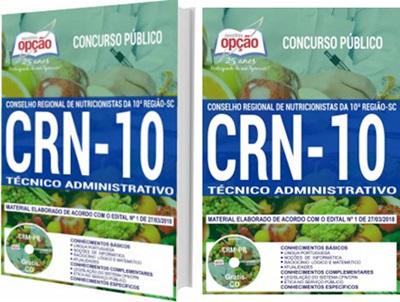 Apostila Concurso CRN 10ª Região 2018