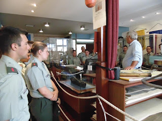 Ξενάγηση Σχολής Μονίμων Υπαξιωματικών 18-6-2017