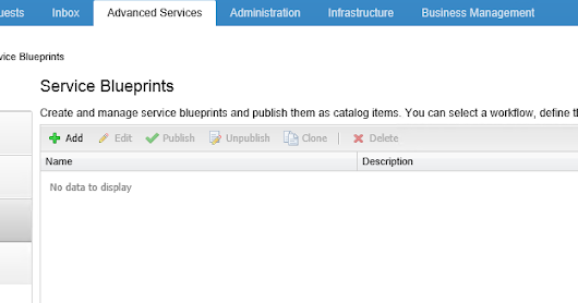 VCAP6-CMA Objective 6.2: Create and publish a service blueprint Part01