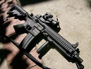 Senapan serbu HK416