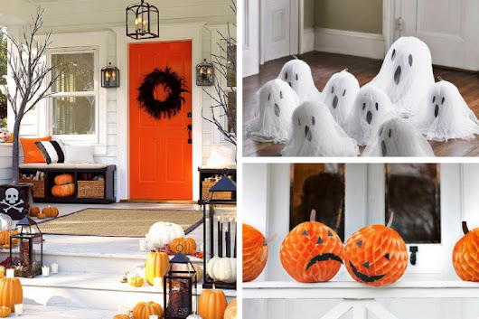 10 Cheap And Easy DIY Halloween Decorations