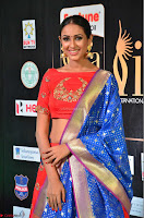 Priya Shree in Beautiful Blue Saree at IIFA Utsavam Awards 2017  Day 2    HD Exclusive Pics 29.JPG