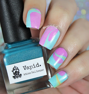 Vapid Lacquer | California Jelly Holos Watermarble