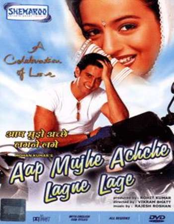 Poster Of Aap Mujhe Achche Lagne Lage 2002 Hindi 700MB DVDRip 720p ESubs HEVC Watch Online Free Download downloadhub.in