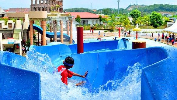 Bayou lagoon park resort taman tema