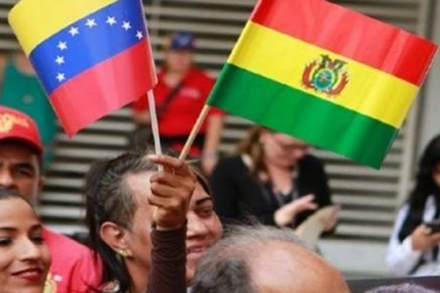 Organizaciones sociales de Bolivia apoyan a Venezuela