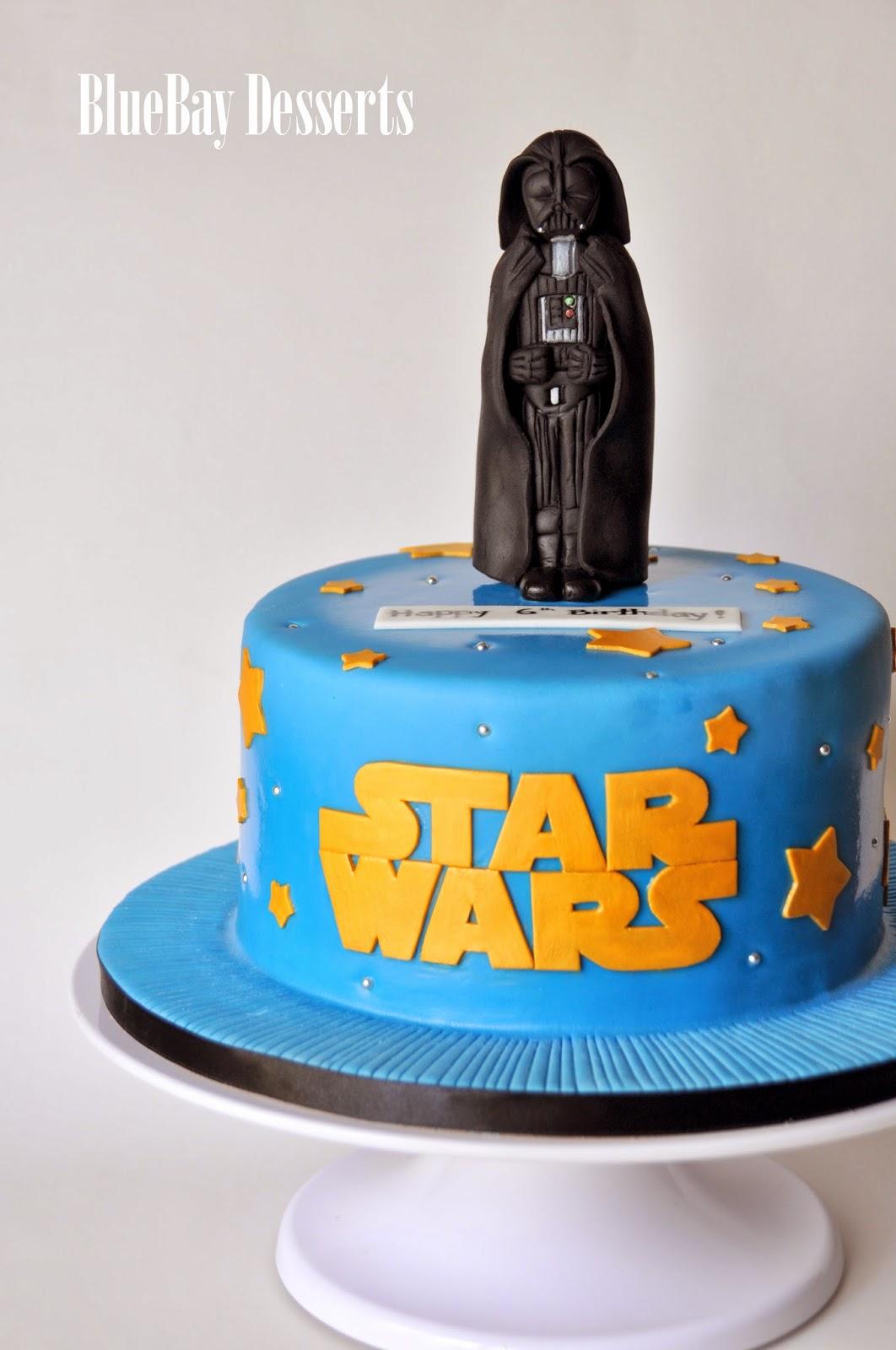 Bluebay Desserts Vancouver B C A Darth Vader Cake And