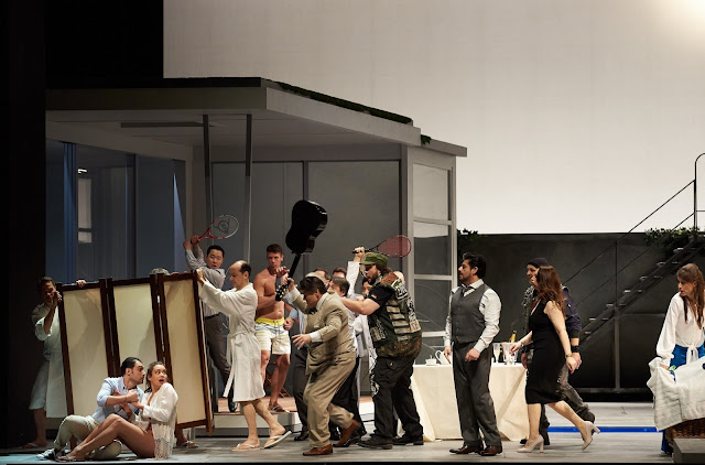 Verdi: Falstaff - Staatsoper Berlin (Photo: Matthias Baus)
