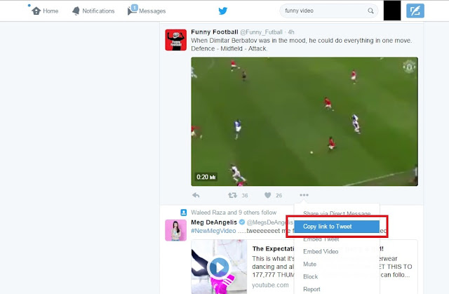 how to save videos from twitter on pc