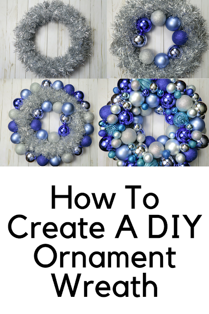 How to create your own diy ornament wreath with love katie How to make your own ornament