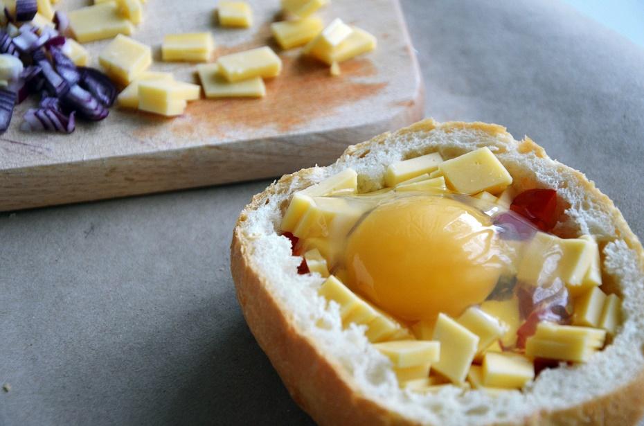 jajko w bułce