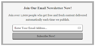 6 Stylish Email Widget For Blogger Ke Liye