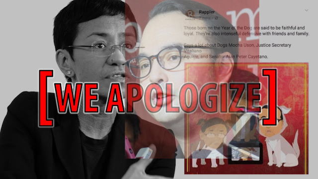 Cayetano socres Rappler: Does supporting Duterte make us dogs/tuta?