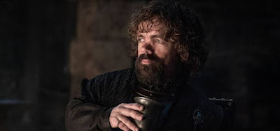 O ator Peter Dinklage no segundo episódio da oitava temporada de Game of Thrones; Tyrion virou peão