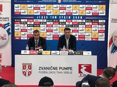 eba89a35a0 Mladen Krstajic convocou 27 nomes para treinamentos com a seleção da Sérvia