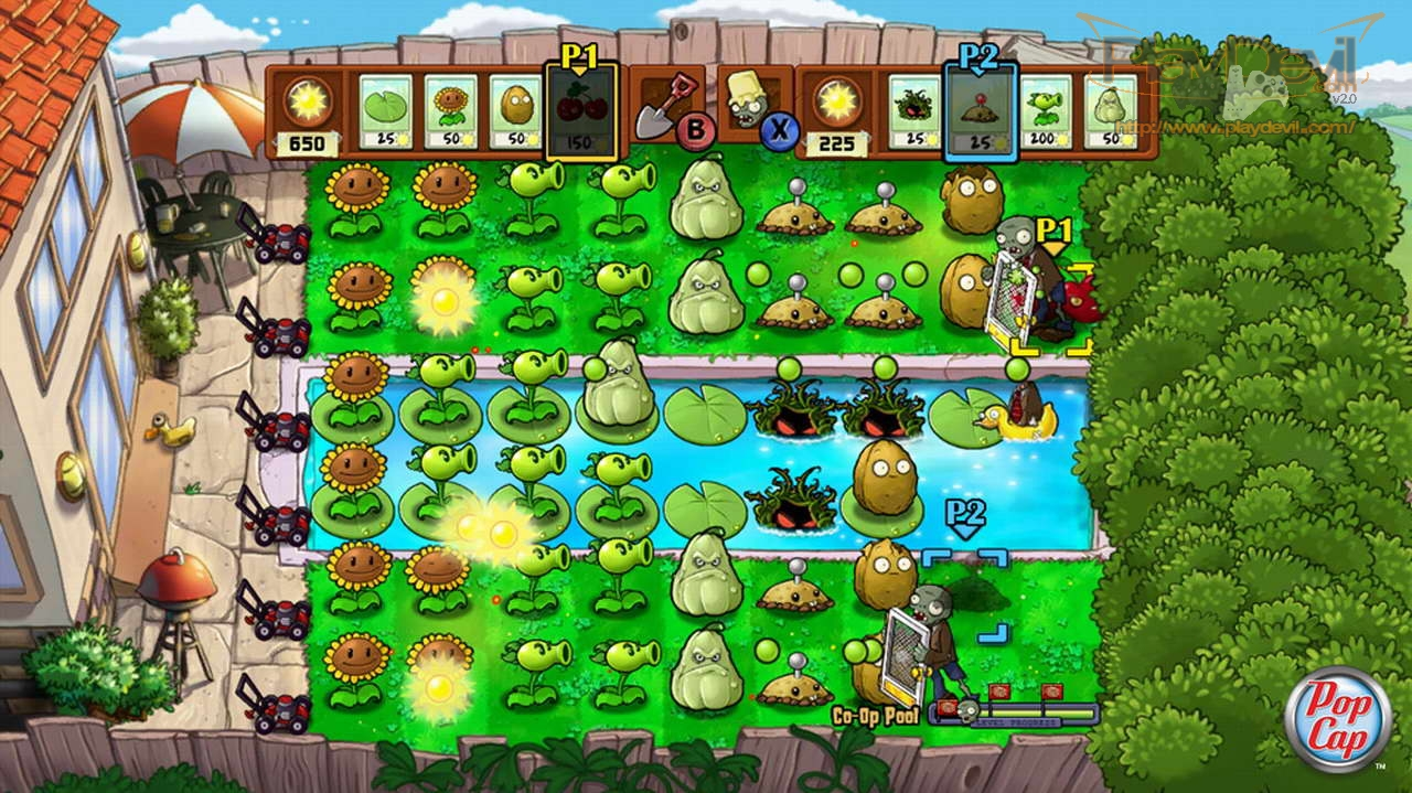 plants vs zombies 2 play free trial