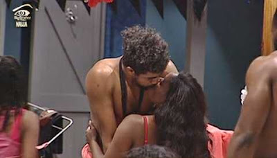 Valentine Night Romance: Watch as #BBNaija Housemates Engage in 'Kissing Festival' Inside Jacuzzi