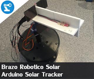 Seguidor Solar (Brazo robotico solar)