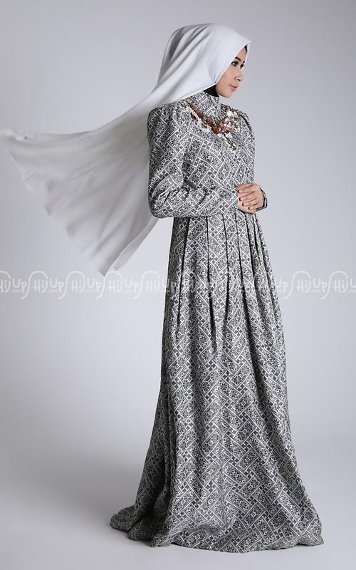 Model Baju Gamis Denim Gamis Murni