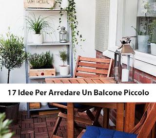 17 Idee Per Arredare Un Balcone Piccolo immagine
