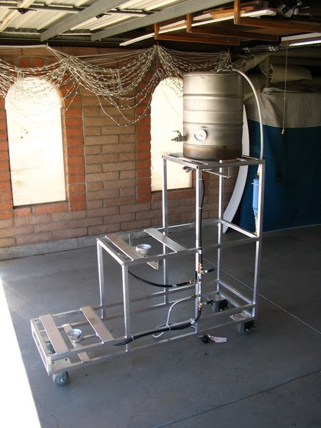 Stars Amp Bars Brewing Co Sbbc S Own 3 Tier Brew Stand Build
