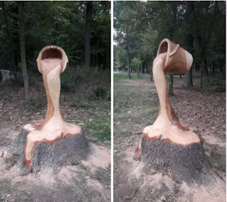 Romanian Artist Carves Tree Stumps into Wonderful Sculptures | Weird news in Nigeria.