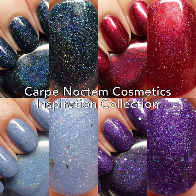 Carpe Noctem Cosmetics Inspiration Collection