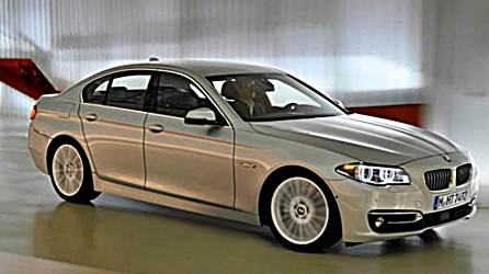 2017 BMW 5 Series Renderings with M Sport Package