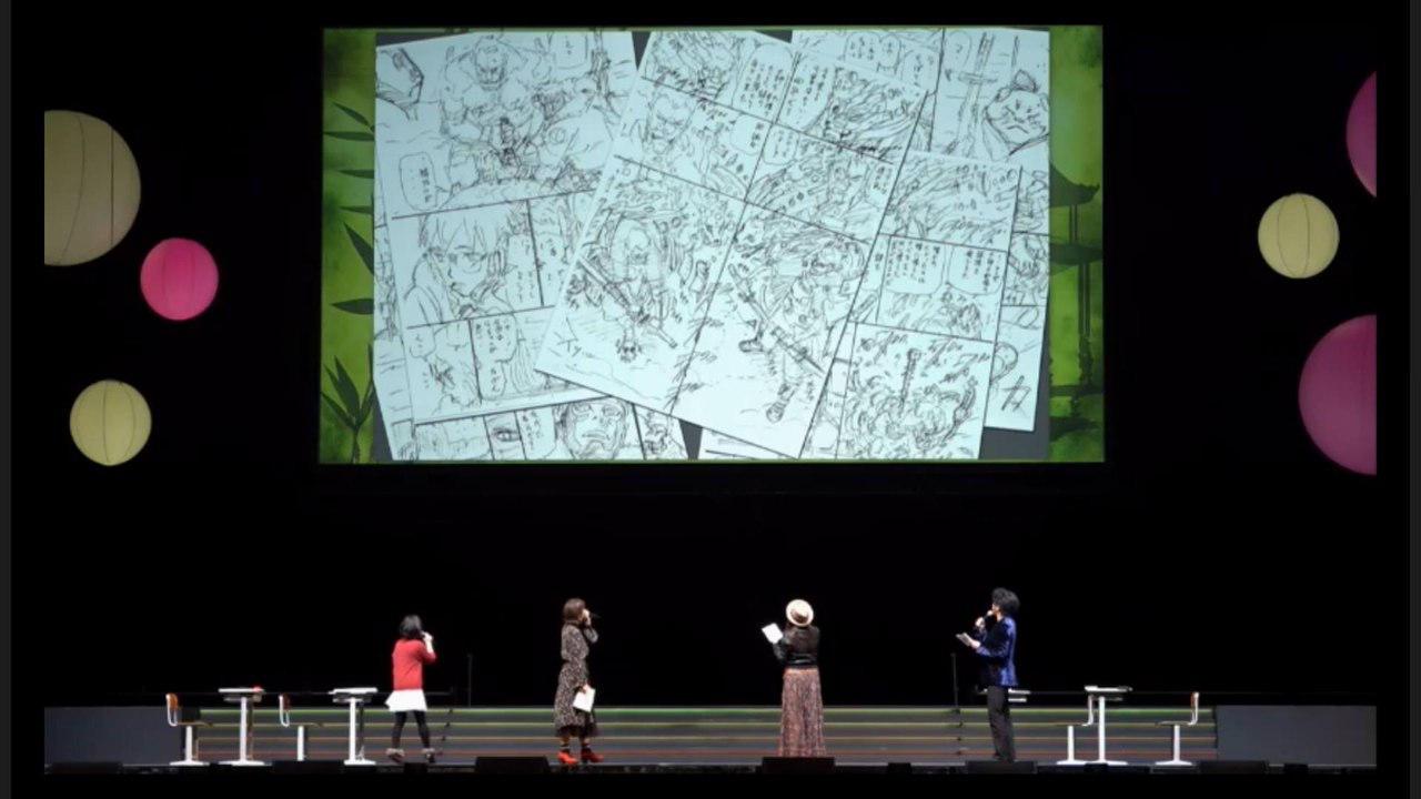 Masashi Kishimoto, twórca mangi Naruto, podczas panelu Jump Festa 2018