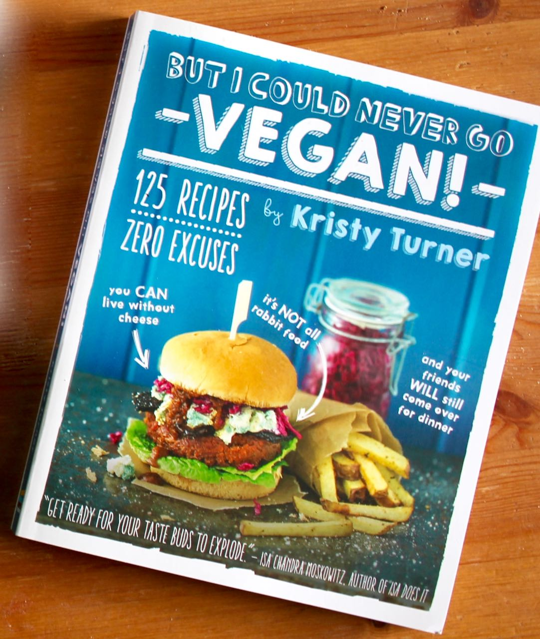 Green Gourmet Giraffe: Book Review: But I could never go vegan