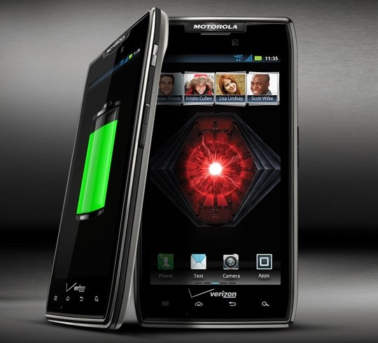 Motorola RAZR Maxx: Android Smartphone With Strong Battery
