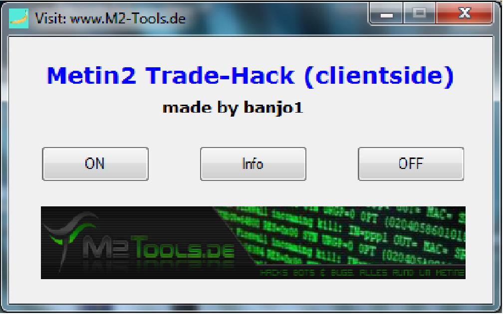 Metin2 trade hack