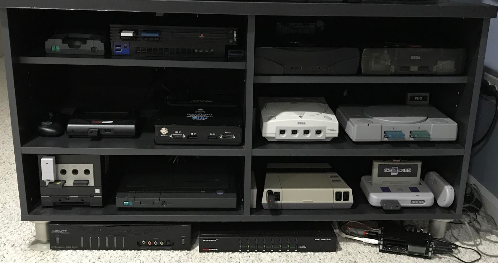 Retro Gamer Randomness: My Console Setup 2019
