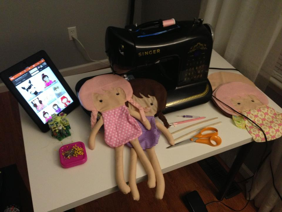 Dolls And Daydreams - Doll And Softie PDF Sewing Patterns: Sewing ...