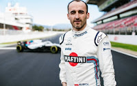 Robert Kubica Williams F1 2018