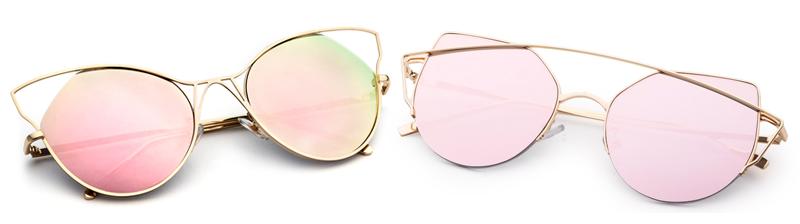 Óculos Flat Sunnies Rosa Quartz