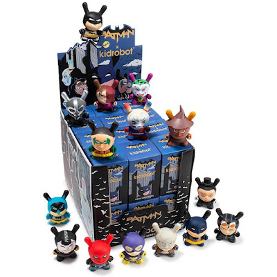 "Batman 3"" Dunny Blind Box Series by Kidrobot x DC Comics"
