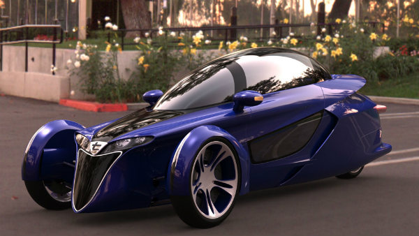 3 Wheeled Terracraft Motorcycle Concept Spicytec