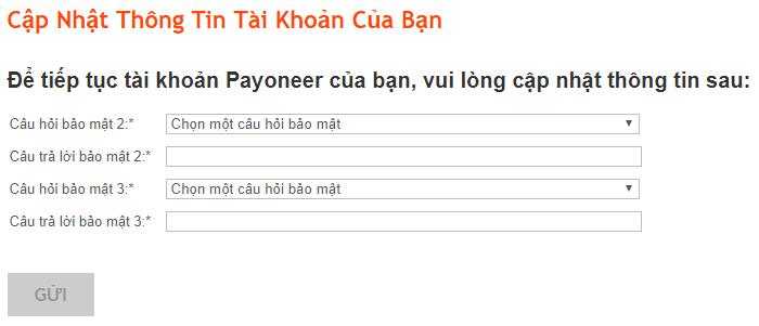 Hướng dẫn cách đăng ký tài khoản Payoneer