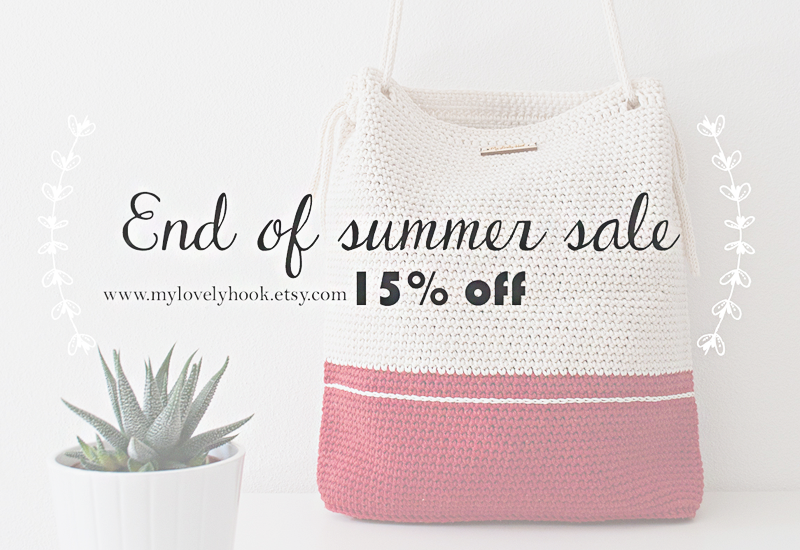 End of summer sale mylovelyhook