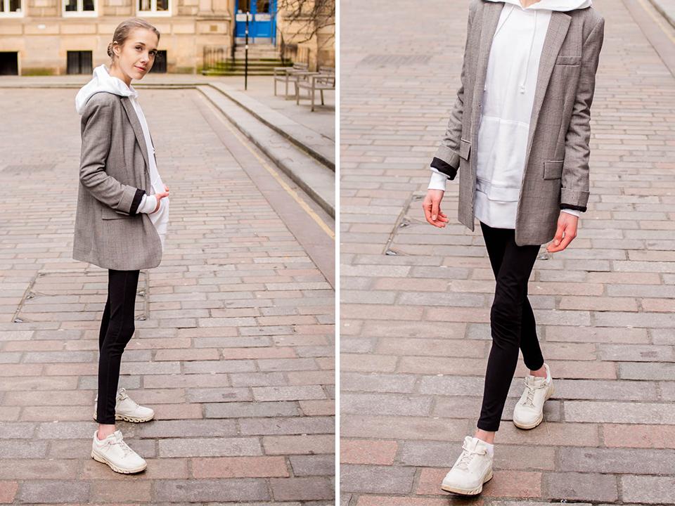 Scandinavian fashion blogger athleisure - Sporttimuoti, skandinaavinen tyyli