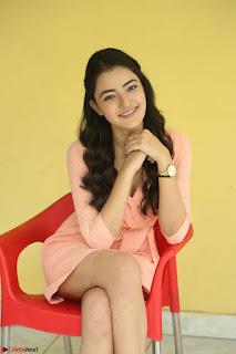 Rukshar Mir in a Peachy Deep Neck Short Dress 096.JPG