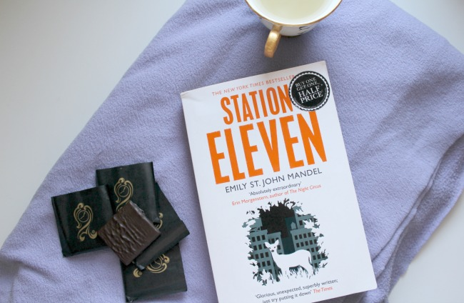 Book of the month - Station Eleven by Emily St John Mandel. Nourish ME: www.nourishmeblog.co.uk