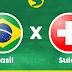 Mande fotos assistindo ao jogo Brasil x Suíça