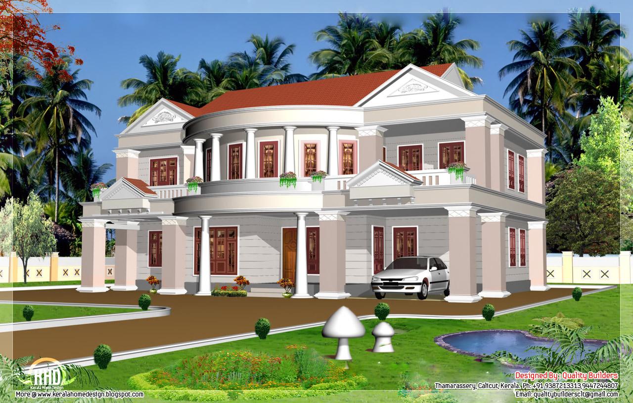 2992 sq.feet big house elevation - Kerala home design and ...